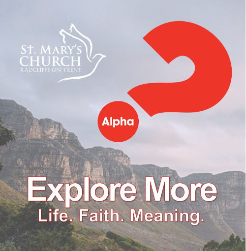 Alpha - Explore - Life, Faith, Meaning